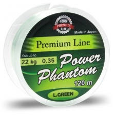 Леска Power Phantom GREEN 120m 0,18mm