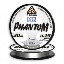 Леска Asama Phantom Ice 30m St.Gray 0,148