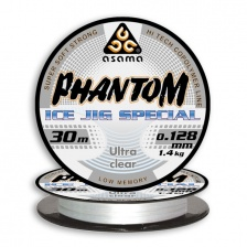 Леска Asama Phantom Ice Jig 30m UltraClear 0,117